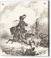 Light Artillery Officer Of The  Imperial Guard (officier D'artillerie Legerie De La  Garde Imperiale) Acrylic Print