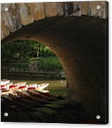 Light At The End Of The Bridge Acrylic Print