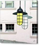 Light Bulb Mural Acrylic Print