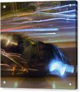 Light Car   Carrosse De Lumiere Acrylic Print
