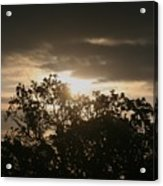 Light Chasing Away The Darkness Acrylic Print