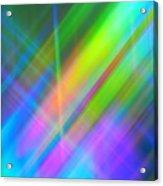 Light Color Hatch Acrylic Print