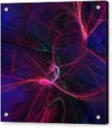 Light Dance 11-25-09 Acrylic Print