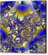 Light Dark Intersect Acrylic Print