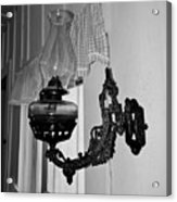 Light From The Past B W Acrylic Print