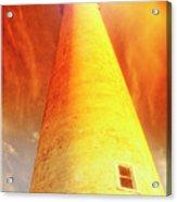 Light House At Sunset, Cape May, Nj Acrylic Print