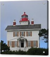 Light House On The Oregon Coast Acrylic Print