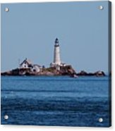 Light House On The Rocks Acrylic Print