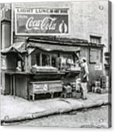 Light Lunch - Hot Dogs - Coca Cola Acrylic Print