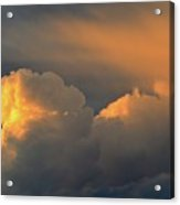 Light On The Clouds Two  Acrylic Print