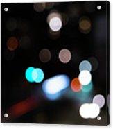 Light Orbs Acrylic Print