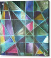 Light Patterns 2 Acrylic Print