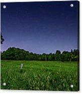 Light Show - Fireflies Vs The Stars Acrylic Print