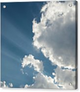 Light Through The Clouds Acrylic Print