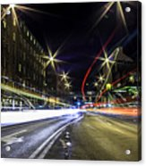 Light Trails 2 Acrylic Print