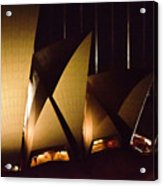 Light Up Sail Of Opera House  Acrylic Print