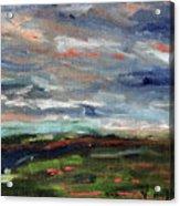 Light Upon The Marsh Acrylic Print