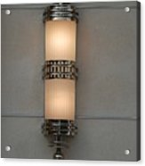 Lighted Wall Sconce Acrylic Print