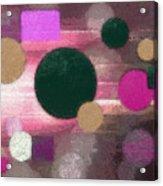 Lighted Way Acrylic Print