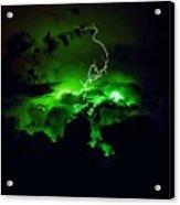 Lightening Storm  Acrylic Print