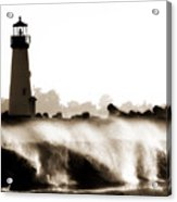 Lighthouse 3 Dreamy Acrylic Print
