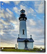Lighthouse And Clouds Acrylic Print