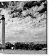 Lighthouse And Sky Acrylic Print