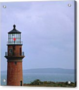 Lighthouse At Dusk- Marthas Vinyard Acrylic Print
