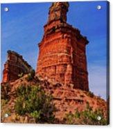 Lighthouse At Palo Duro Canyon Acrylic Print