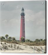 Lighthouse At Ponce Inlet Acrylic Print