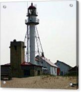 Lighthouse At White Fish Point Michigan Acrylic Print