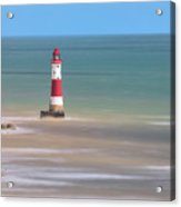 Lighthouse Beachy Head - England Acrylic Print