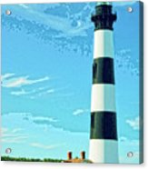 Lighthouse Bodie Island Acrylic Print