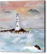 Lighthouse Cove Acrylic Print