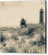 Lighthouse Fade Acrylic Print