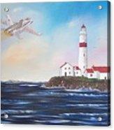 Lighthouse Fly By Acrylic Print