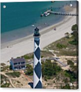Lighthouse From Above Acrylic Print