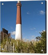 Lighthouse From Dunes Acrylic Print