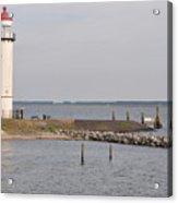 Lighthouse Hellevoetsluis Acrylic Print