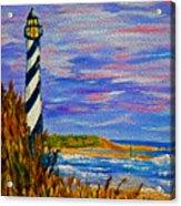 Lighthouse- Impressionism- The Coast Acrylic Print