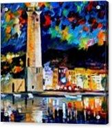 Lighthouse In Crete Acrylic Print