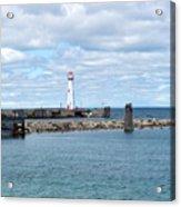 Lighthouse In Michigan Acrylic Print