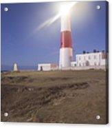 Lighthouse In Portland Bill Acrylic Print