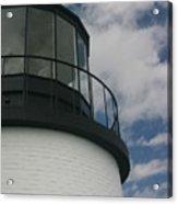 Lighthouse In The Sky Acrylic Print