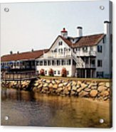 Lighthouse Inn At Bass River Acrylic Print