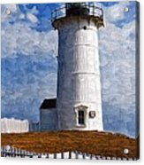 Lighthouse Keepers Dwelling Acrylic Print