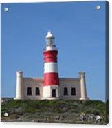 Lighthouse Of Agulhas Acrylic Print