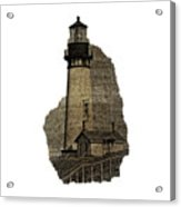 Lighthouse Of Old Acrylic Print