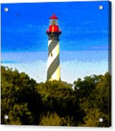 Lighthouse Of Saint Augustine Acrylic Print