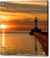 Lighthouse On Glass Acrylic Print